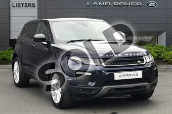 Range Rover Evoque 2.0 TD4 SE Tech 5dr Auto in Loire Blue at Listers Land Rover Droitwich