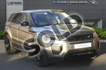 Range Rover Evoque 2.0 TD4 HSE Dynamic 5dr Auto in Silicon Silver at Listers Land Rover Droitwich