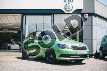 Skoda Fabia 1.0 TSI Colour Edition 5dr in Rallye Green at Listers ŠKODA Coventry