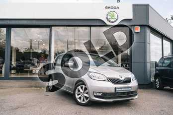 Skoda Citigo 1.0 MPI 75 GreenTech SE L 5dr in Tungsten Silver Metallic at Listers ŠKODA Coventry