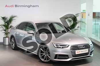 Audi A4 1.4T FSI S Line 4dr (Leather/Alc) in Floret Silver Metallic at Birmingham Audi