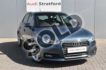 Audi A1 1.4 TFSI Sport 5dr in Utopia Blue, metallic at Stratford Audi