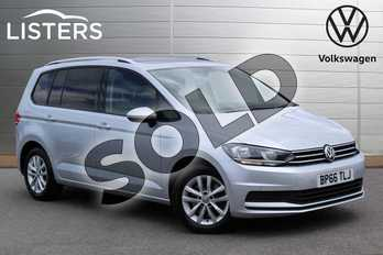 Volkswagen Touran 2.0 TDI SE Family 5dr in Reflex Silver at Listers Volkswagen Nuneaton