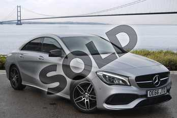 Mercedes-Benz CLA Class CLA 200d AMG Line 4dr in polar silver metallic at Mercedes-Benz of Boston