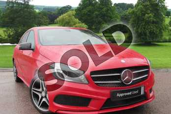 Mercedes-Benz A Class A200 (2.1) CDI AMG Sport 5dr Auto in Jupiter Red at Mercedes-Benz of Grimsby