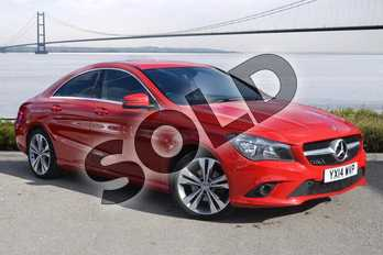 Mercedes-Benz CLA Class CLA 220 CDI Sport 4dr Tip Auto in Jupiter Red at Mercedes-Benz of Hull