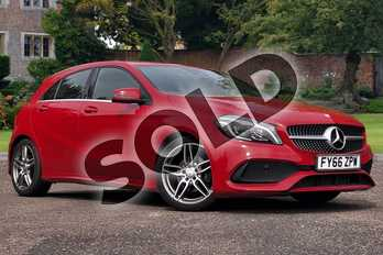 Mercedes-Benz A Class A180d AMG Line Premium 5dr in Jupiter Red at Mercedes-Benz of Lincoln