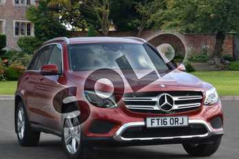 Mercedes-Benz GLC GLC 220d 4Matic Sport 5dr 9G-Tronic in designo hyacinth red metallic at Mercedes-Benz of Lincoln