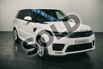 Range Rover Sport 3.0 SDV6 HSE Dynamic 5dr Auto in Fuji White at Listers Land Rover Solihull