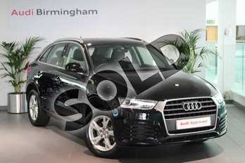 Audi Q3 1.4T FSI Sport 5dr in Myth Black Metallic at Birmingham Audi