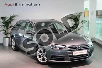 Audi A4 2.0 TDI Ultra Sport 5dr S Tronic in Monsoon Grey Metallic at Birmingham Audi