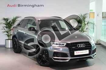 Audi Q3 2.0 TDI Quattro S Line Edition 5dr S Tronic in Monsoon Grey Metallic at Birmingham Audi