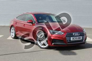 Audi A5 40 TDI S Line 5dr S Tronic in Matador Red Metallic at Coventry Audi