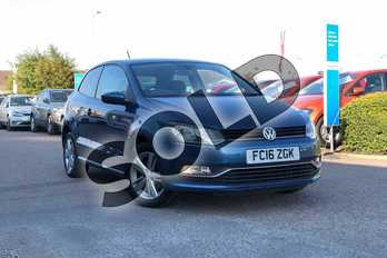 Volkswagen Polo 1.0 Match 3dr in Blue Silk at Listers Volkswagen Loughborough