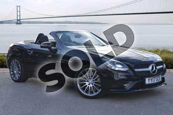 Mercedes-Benz SLC SLC 250d AMG Line 2dr 9G-Tronic in Obsidian Black Metallic at Mercedes-Benz of Hull