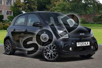 Smart Forfour 60kW EQ Prime Exclusive 17kWh 5dr Auto (22kWch) in black at smart at Mercedes-Benz of Lincoln