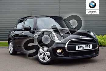 MINI Hatchback 1.2 One 5dr in Midnight Black at Listers Boston (MINI)