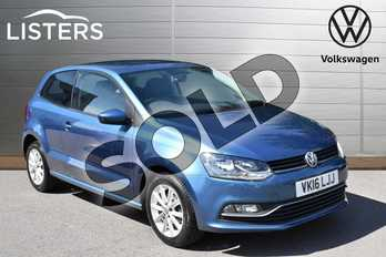 Volkswagen Polo 1.2 TSI Match 3dr in Blue Silk at Listers Volkswagen Evesham