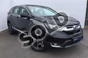 Honda CR-V 1.5 VTEC Turbo SE 5dr CVT in Crystal Black at Listers Honda Solihull
