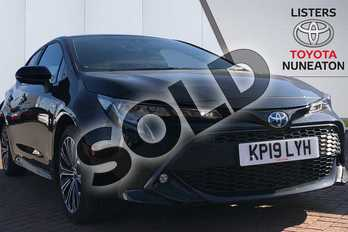 Toyota Corolla 1.8 VVT-i Hybrid Design 5dr CVT in Black at Listers Toyota Nuneaton