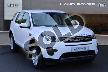 Land Rover Discovery Sport 2.0 TD4 180 SE 5dr in Fuji White at Listers Land Rover Droitwich