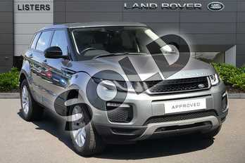 Range Rover Evoque 2.0 TD4 SE Tech 5dr Auto in Scotia Grey at Listers Land Rover Droitwich
