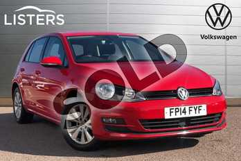 Volkswagen Golf 1.4 TSI SE 5dr in Tornado Red at Listers Volkswagen Loughborough