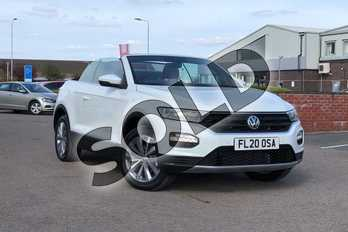 Volkswagen T-Roc 1.5 TSI Design 2dr in Pure White at Listers Volkswagen Loughborough