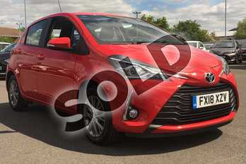 Toyota Yaris 1.5 VVT-i Icon 5dr in Chilli Red at Listers Toyota Lincoln
