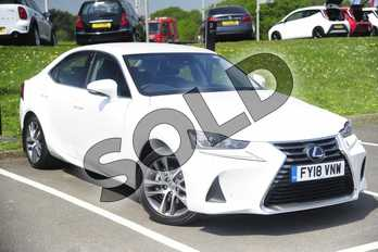 Lexus IS 300h Advance 4dr CVT Auto in Sonic White at Lexus Lincoln