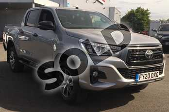 Toyota Hilux Invincible X D/Cab Pick Up 2.4 D-4D Auto in Silver Blade at Listers Toyota Lincoln
