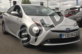 Toyota Prius 1.8 VVTi Business Edition 5dr CVT in Tyrol Silver at Listers Toyota Lincoln