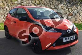 Toyota AYGO 1.0 VVT-i X-Cite 5dr in Orange Twist at Listers Toyota Grantham