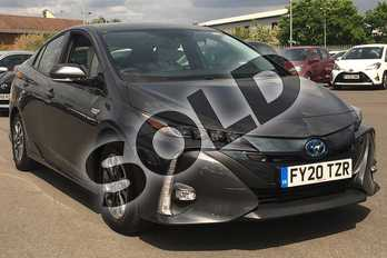 Toyota Prius 1.8 PHEV Excel 5dr CVT in Decuma Grey at Listers Toyota Lincoln