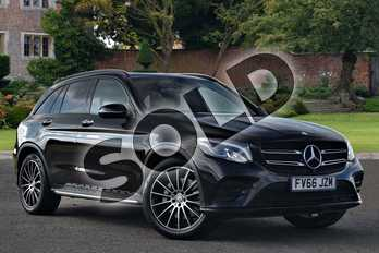 Mercedes-Benz GLC GLC 250d 4Matic AMG Line Prem Plus 5dr 9G-Tronic in Obsidian Black Metallic at Mercedes-Benz of Lincoln