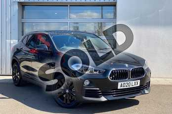 BMW X2 sDrive 20i Sport 5dr Step Auto in Black Sapphire metallic paint at Listers King's Lynn (BMW)