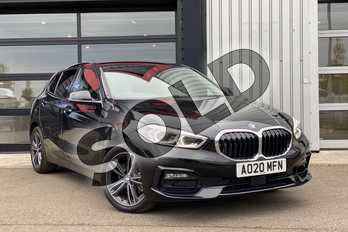 BMW 1 Series 118i Sport 5dr Step Auto in Black Sapphire metallic paint at Listers King's Lynn (BMW)