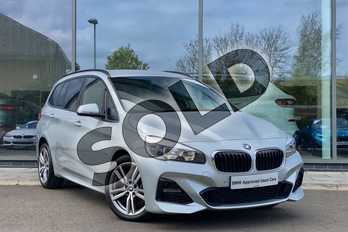 BMW 2 Series 220d xDrive M Sport 5dr Step Auto in Glacier Silver at Listers King's Lynn (BMW)