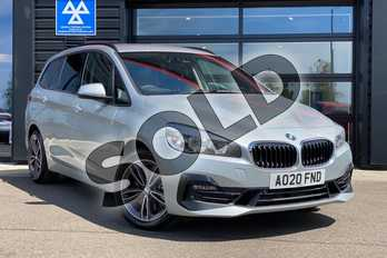 BMW 2 Series 220d xDrive Sport 5dr Step Auto in Glacier Silver at Listers King's Lynn (BMW)
