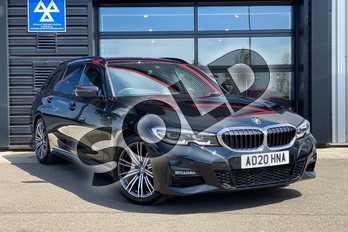 BMW 3 Series 320d M Sport 5dr Step Auto in Black Sapphire metallic paint at Listers King's Lynn (BMW)