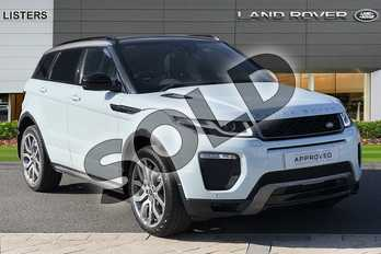 Range Rover Evoque 2.0 TD4 HSE Dynamic 5dr Auto in Baltoro Ice at Listers Land Rover Hereford