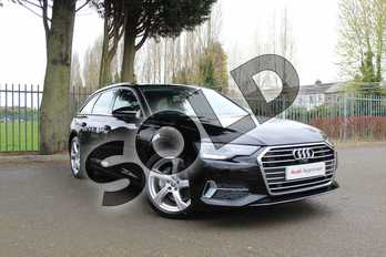 Audi A6 40 TDI Sport 5dr S Tronic in Myth Black Metallic at Worcester Audi
