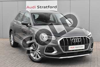 Audi Q3 35 TDI Sport 5dr S Tronic in Nano Grey Metallic at Worcester Audi
