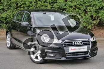 Audi A1 1.4 TFSI Sport 5dr in Mythos Black, metallic at Worcester Audi