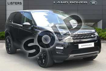 Land Rover Discovery Sport 2.0 SD4 240 HSE Black 5dr Auto in Santorini Black at Listers Land Rover Droitwich