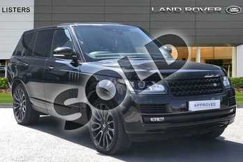 Range Rover 4.4 SDV8 Autobiography 4dr Auto in Santorini Black at Listers Land Rover Hereford