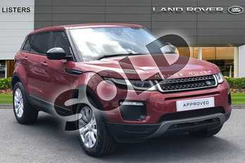 Range Rover Evoque 2.0 TD4 SE Tech 5dr Auto in Firenze Red at Listers Land Rover Hereford