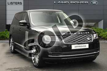 Range Rover 3.0 SDV6 Vogue 4dr Auto in Santorini Black at Listers Land Rover Droitwich