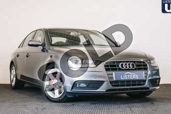 Audi A4 2.0 TDI Ultra 163 SE Technik 4dr in Metallic - Dakota Grey at Listers U Stratford-upon-Avon
