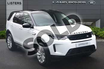 Land Rover Discovery Sport 2.0 D180 SE 5dr Auto in Fuji White at Listers Land Rover Droitwich